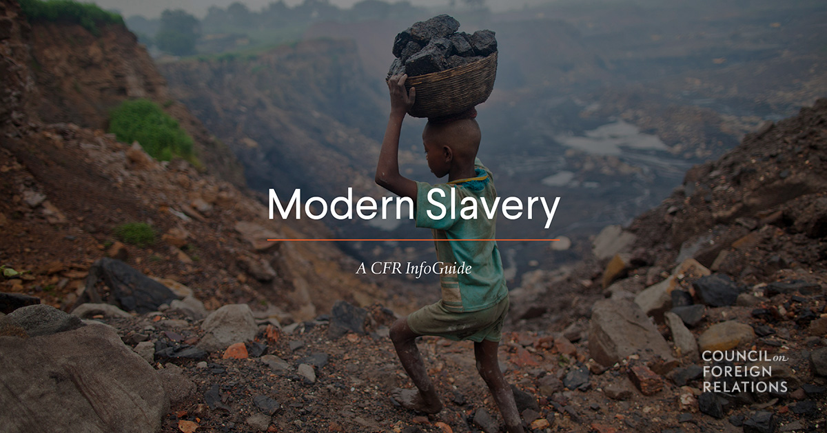 Modern Slavery: Its Root Causes and the Human Toll